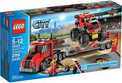 Lego city 60027 Monster Truck Transporter Транспортер монстрогрузовика