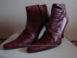 Туфли кожаные женские демисезонные  Италия
