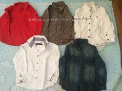 Рубашки з Англії від GEORGE, NEXT , REBEL 3-4 р