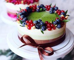 Полосатые торты nezabudka cake