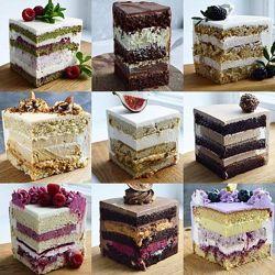 Юлия Залесских 25 рецептов тортов бисквиты начинки selfsweets spb