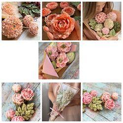 Видеокурс по пряничным цветам Назаренко Виктория
