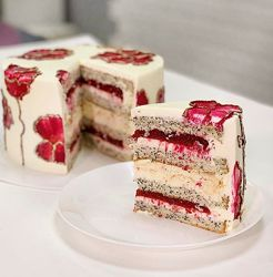 Маковый торт Руби Анастасия Лазарева Make Cake