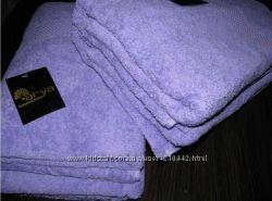 Однотонные махровые полотенца турецкой фирмы Arya в ассортименте