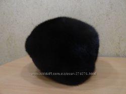 Женская гламурная норковая шапка. Сезонные скидки
