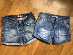 Шорты джинсовые на девочку р. 140-145см