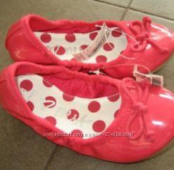 Новые туфли балетки next