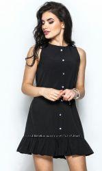 Сарафан, платье, черное