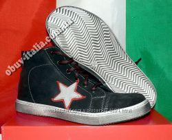 Кеды детские кожаные фирмы Giunior оригинал из Италии