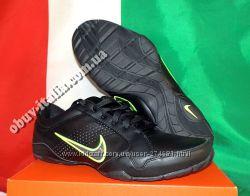 Кроссовки мужские кожаные фирмы Nike Air Compel  оригинал из Италии