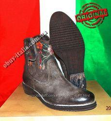 Ботинки женские кожаные фирмы Alkimia оригинал п-о Италия 40 размер
