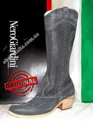 Сапоги женские кожаные фирмы Nero Giardini из Италии оригинал