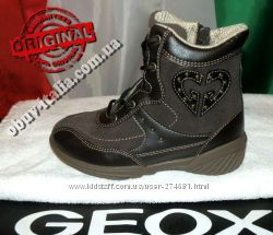 Ботинки демисезонные детские кожаные Geox оригинал из Италии
