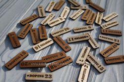 Оригинальный деревянный брелок для ключей с нанесением Вашего логотипа