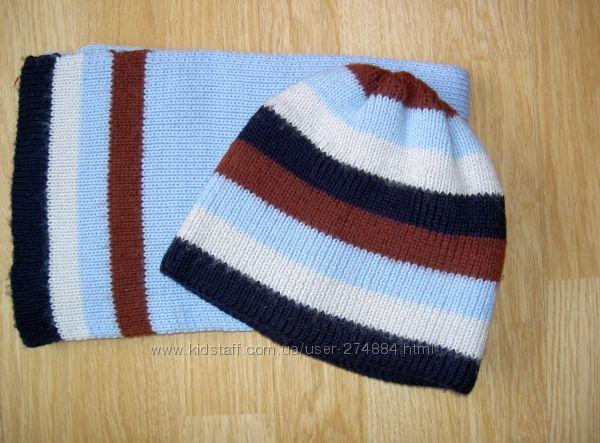 Шапка с шарфом р-р 134 dada