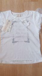 футболка юбочка лосины  повязка размер 128Lady diamond
