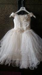 Нарядное платье размер 110-128 5-8 лет