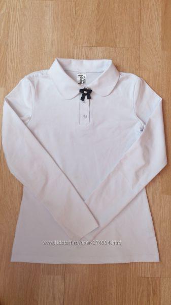 Гольф, блузки размер 146 белые школа