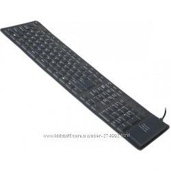 Клавиатура Gembird KB-109F-B-RU, черная