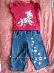 Разные фирменные джинсы от 6 до 12мес. Дисней, Некст и др.