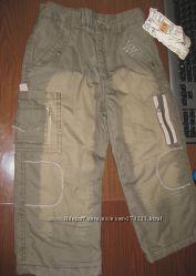 Стильные утепленные брюки