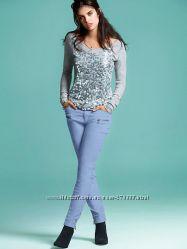 Вельветовые брюки Victorias Secret на ОБ от 110см.