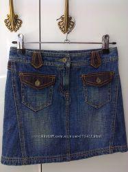 Юбка джинсовая NEXT 122-128см