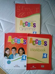 ACCESS 4 Учебник английский цена за все