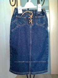 Юбка джинсовая макси 110-116см NEXT