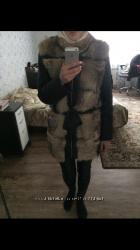 Куртка-жилетка кожа