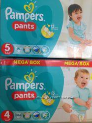 Трусики Pampers Active Pants 4 9-14 кг.