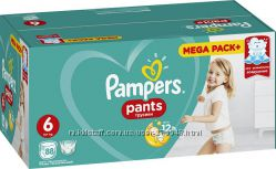 Трусики Pampers Active Pants 3 4 4 5 6 7 коробка трусы пампес