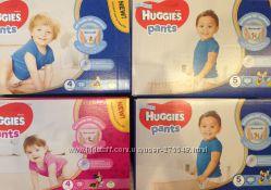 Huggies трусики-подгузники для девочек и мальчиков  4, 5 коробка хаггис