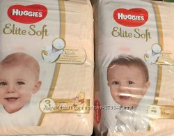 Суперцена Huggies Elite Soft Хаггис Элит Софт 3 4 5