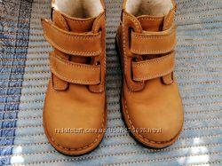 Демисезонные ботинки нубук. Еврозима