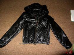 Курточка кожзам размер XS S