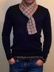 Кофта с шарфом мужская Турция