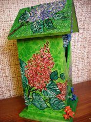 Чайный домик, роспись и лепка
