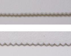 Бандо войлочное для ламбрекенов цв белый 105см рул 25м
