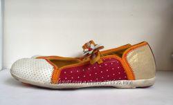 Обувь бу Кожаные балетки туфли Camper 41р