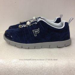 Propet US6 Женские кроссовки синие 35-36-37р на широкую ногу
