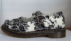 DR MARTENS Floral White Mary Jane 5026