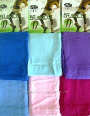 Красивенные цветные капроновые колготки для маленьких модниц