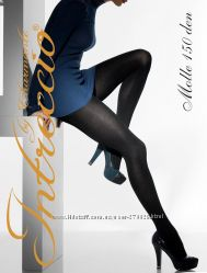 Теплые итальянские женские колготки Intreccio MOLLE 150