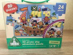 Большой напольный 3D пазл Пиратский корабль от ELC Mothercare