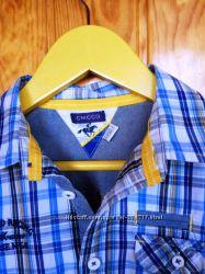 Стильная брендовая рубашка CHICCO 128 р