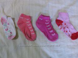 Носочки на девочку хб 16-20р. и новые шерстяные носки Шугуан