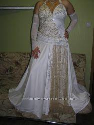 Свое свадебное платье, одевалось один раз - на свадьбу, не венчанное