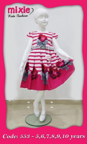 Шикарное яркое платье Турция