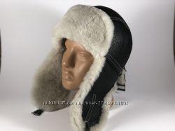 Ушанка натуральный мех овчина